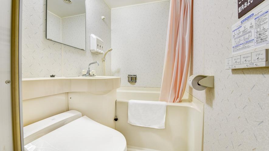 *【お部屋】キャビン以外の全室にユニットバス・トイレが付いております!