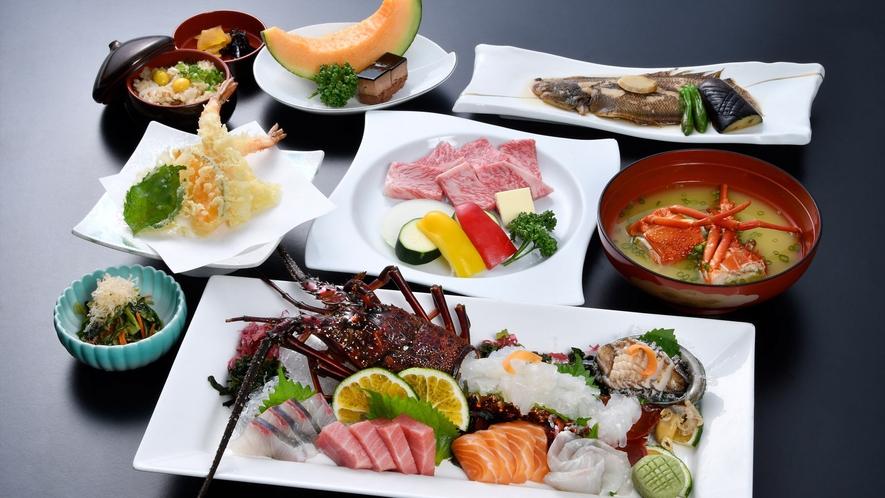 *【佐賀牛と海の幸】お肉も海の幸も食べたい方におすすめ!