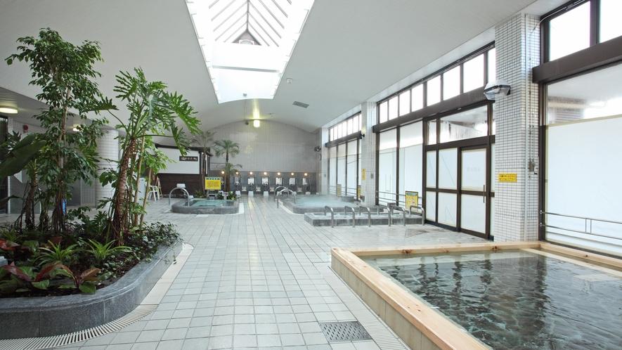 * 【大浴場】5分の入浴で血流が4倍にもなると言われている炭酸泉