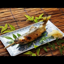 ◆【別注】鮎の塩焼き