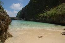 来間島のプライベートビーチ