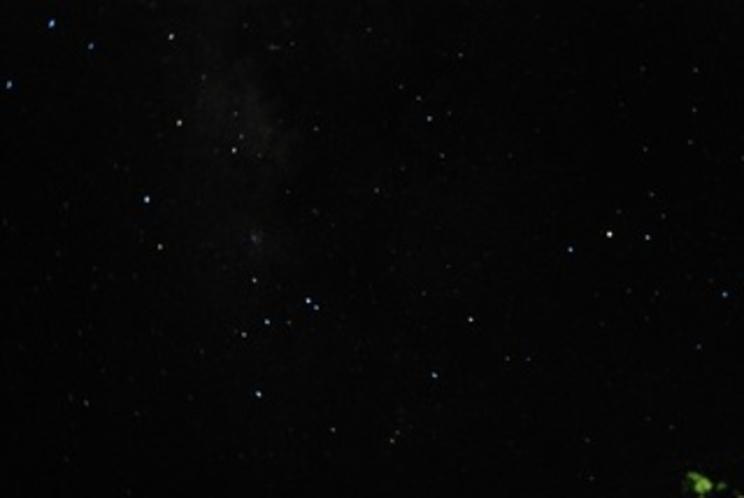 8月の星空