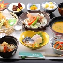 *【2019年秋】9~10月Aコース/秋鮭ちゃんちゃん焼き・栗ご飯などをご用意