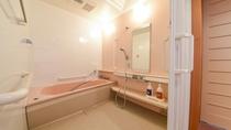 *ツイン/洋室にはバリアフリー対応のお風呂付です(お湯は温泉ではございません)