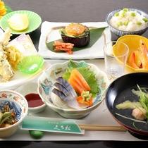 *【2019年夏】7~8月Aコース/〆鯖・夏の旬彩煮・枝豆ご飯などをご用意