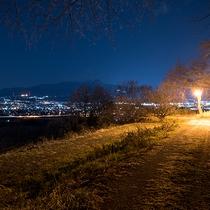*景観/ホテル~ばんどうの湯までの道がてらも夜景パノラマをご覧いただけます