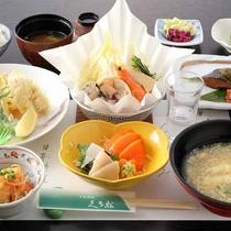 *【2019年春】3~4月Aコース/鰆の木の芽味噌焼・天ぷら盛合・竹の子ご飯などをご用意