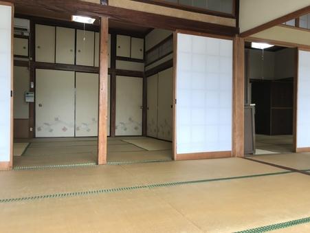 別館の14畳+17畳の和室の広間
