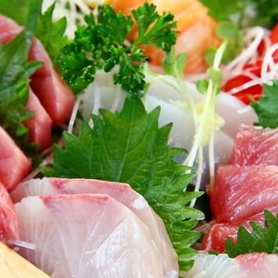 【舟盛り付き】人気のスタンダードコースに、さらに舟盛り付き!旬の地魚を味わおう♪