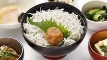 梅しらす丼(イメージ)