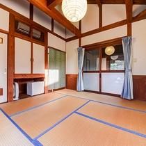 *和室8畳:最大3名までご宿泊できます。