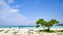 *コンドイビーチ:当館から約900m。遠浅でほとんど波がない穏やかなビーチ。