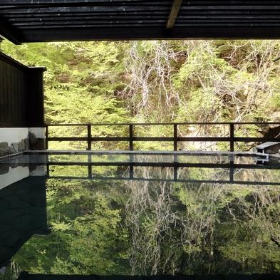 ソーシャル・ディスタンス・プラン・部屋風呂ですごす秘湯の静かな一夜 [禁煙室]