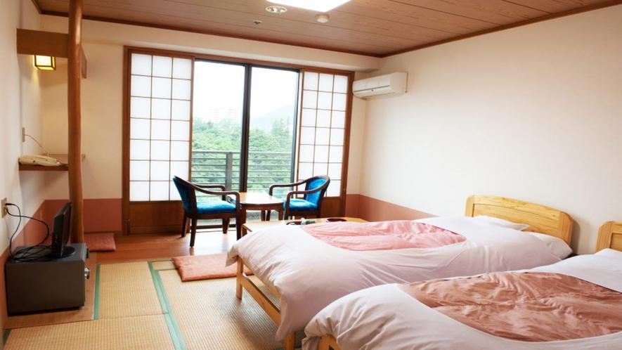 【客室一例】ベッドタイプ