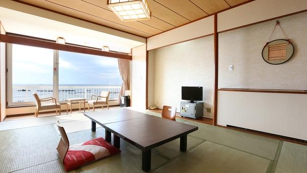 【禁煙】海の見える和室10畳(バス付)ss