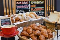 朝食パンコーナー