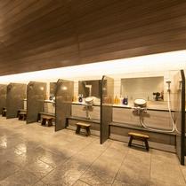 大浴場洗場1