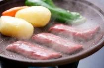 黒毛和牛ロース陶板焼き