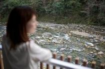 バルコニーからの清流水内川