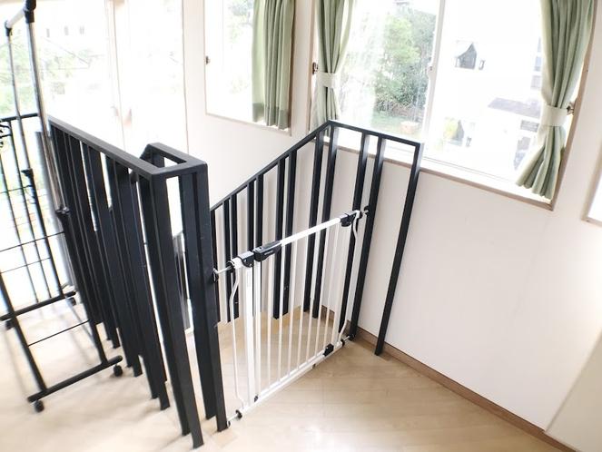 <客室>メゾネットタイプ 2階 階段 転落防止柵