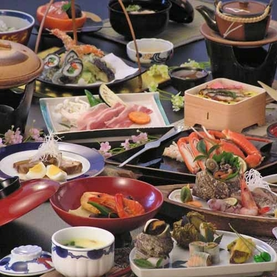 ★【今が旬の魚介類の会席プラン】  目の前の境港や地元の定置網でとれた食材を使ったプラン♪