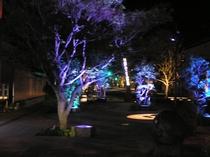 リニューアルした水木しげるロード。夜は妖怪のライトアップで恐怖と面白さ倍増!当館から車で10分。