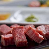 【地元・白老牛ステーキ】〜白老牛をはじめとする地場の素材との出会いを堪能〜