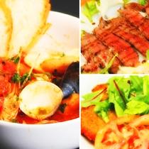 【料理】イタリアンコースディナー