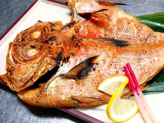 【伊豆の贅沢料理】朝食バイキングでもOK♪金目鯛の干物付きプラン