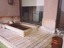 例)檜露天風呂付き客室