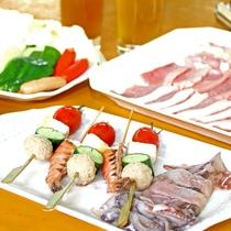 魚介・肉・野菜をモリモリ食べて♪