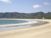 弓ヶ浜ビーチです。あなたスタイルで楽しんで