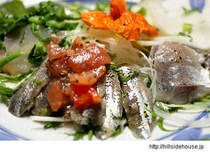 たっぷり野菜とお魚のマリネー