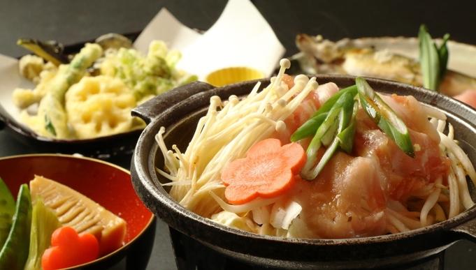 【心にググっと】【当館 大人気♪】お野菜たっぷり!<もち豚の焼き肉>お料理グレードアップ。1泊2食付