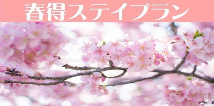 【春休み】春得ステイプラン☆お泊りのみ