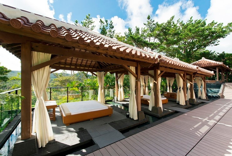 The Ritz-Carlton SPA by ESPA 屋外エリア