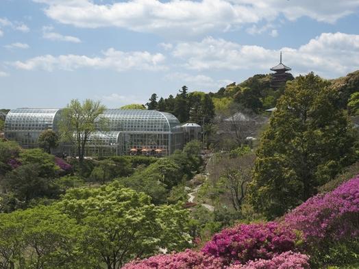 【庭園・温室・展示室と見所たくさん♪】牧野植物園入場チケット付プラン(1泊2食付)