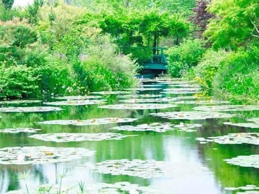 季節の花が庭園を彩る♪「モネの庭」チケット付プラン(1泊2食付)【自然・体験型観光☆こじゃんと旨い】