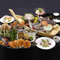 会席風皿鉢料理イメージ