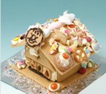お菓子の家③