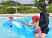 プールって楽しい♪③