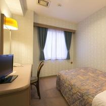 アネックスシングルルーム/ベッドサイズは110cm×200cm