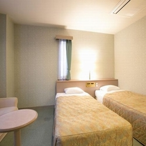 アネックスツインルーム/ベッドサイズは110cm×200cm