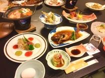 夏季「魚々彩々プラン」料理例