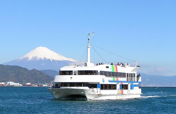 【ご家族・カップル向け】清水港内クルーズ付▲世界遺産『富士山』や『三保の松原』を海から眺める贅沢