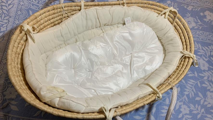 【お子様用無料貸出備品】新生児用ベッド