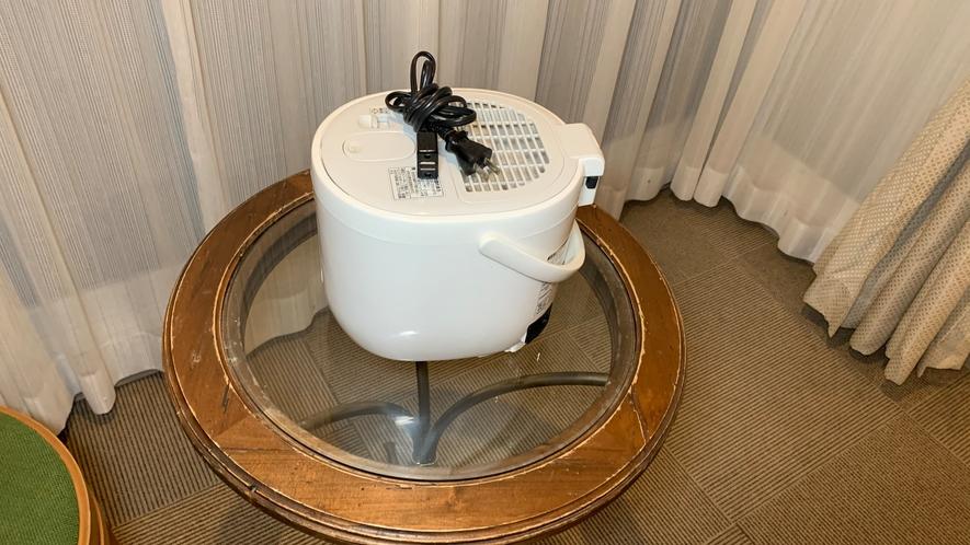 〓加湿器〓冬季はお部屋に常備☆乾燥する冬でも快適なステイを♪