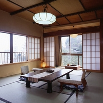 ◆落ち着いた雰囲気の禁煙和室10畳(一例)
