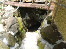 洞窟風呂入口