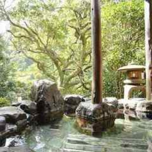 露天風呂(正方形)